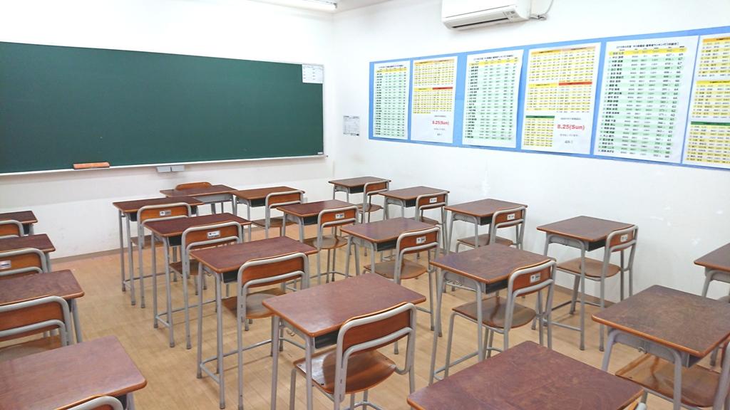 玉島西教室内1
